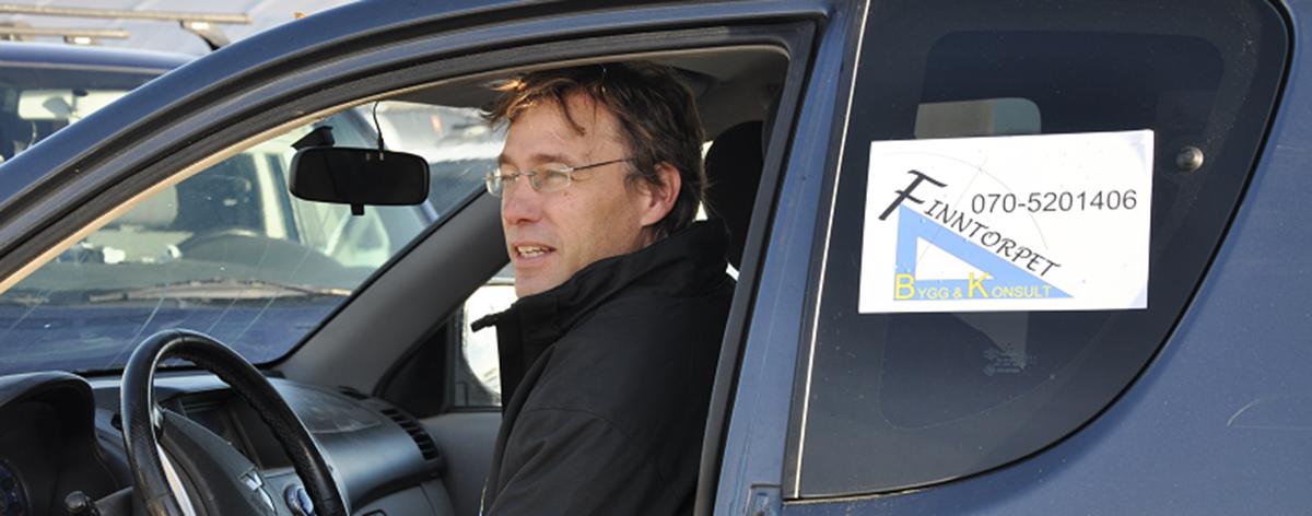 Andreas Karlsson, VD, Finntorpet Bygg och Konsult