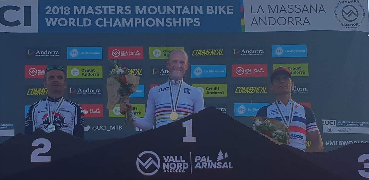 Tommy Olsson högst på prispallen vid VM 2018 i Andorra