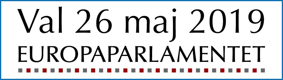 Val 26 maj 2019 - Europaparlamentet