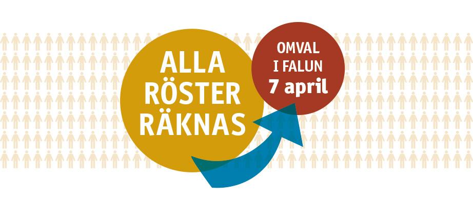 Omval till fullmäktige i Falu kommun 2019